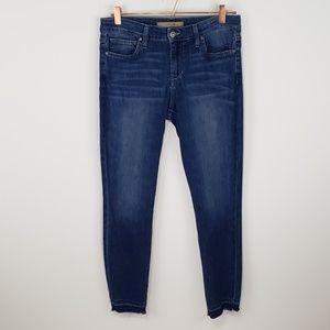 Joe's Jeans Ruth Skinny Raw Ankle Hem Blue - Sz 29